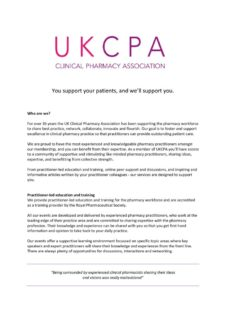 thumbnail of About UKCPA