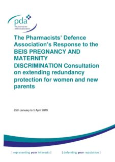 thumbnail of BEIS Pregnancy Maternity Discrimination Consultation Response 04-04-2019 (002)