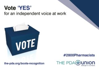 thumbnail of Boots A4 vote poster