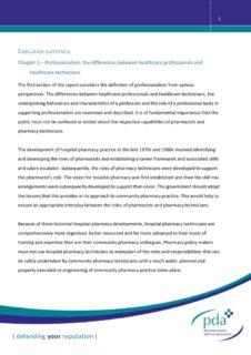 thumbnail of Chapter 1 Professionalism Executive Summary