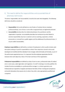 thumbnail of Chapter 6 – the Need to Define the Responsibilities and Accountabilities of Pharmacy Technicians