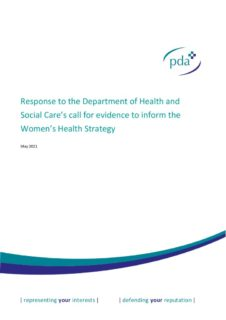 thumbnail of DHSC Women's Health Strategy_PDA_NAWP_May 2021_FINAL