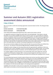 thumbnail of GPHC-Summer-and-Autumn-2021-registration-assessment-dates-announced
