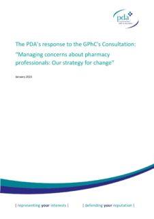 thumbnail of GPhC FTP consultation FINAL