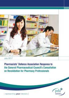 thumbnail of GPhC Revalidation Consultation Response