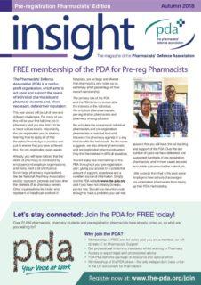 thumbnail of Hospital Pre Reg Insight Autumn 2018