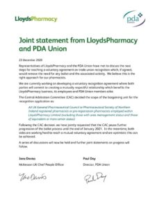 thumbnail of LP and PDA Statement – 23 December 2020
