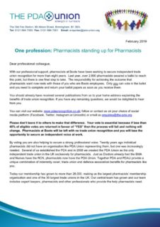 thumbnail of Letter to eligible pharmacists and pre-registartion pharmacists – 18 Feb