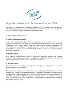 thumbnail of Lloyds Redundancy Consultation Process 2020_ almost FINAL