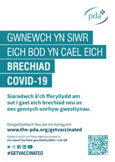 thumbnail of Make sure you get your vaccination WELSH translation