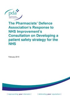 thumbnail of NHSI Developing Patient Safety Strategy consultation response FINAL 26-03-19