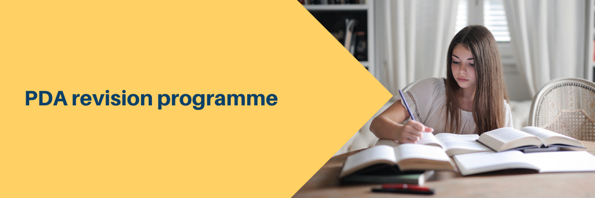 Revision programme for those sitting the November 2021 assessment