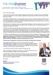 thumbnail of PDAU Boots Pharmacists Letter May 2018