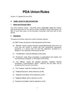 thumbnail of PDAU rules – as agreed at AGM on 28062018