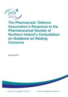 thumbnail of PSNI Guidance raising concerns consultation response FINAL