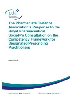 thumbnail of RPS DPP Competency Framework Consultation Response FINAL 02-08-2019