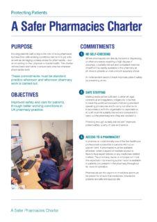 thumbnail of Safer Pharmacy Charter_web
