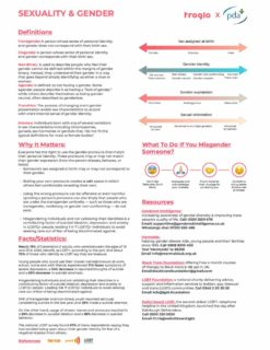 thumbnail of Sexuality and Gender factsheet