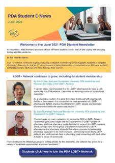 thumbnail of Student Newsletter June