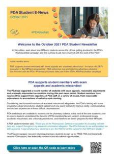 thumbnail of Student Newsletter October