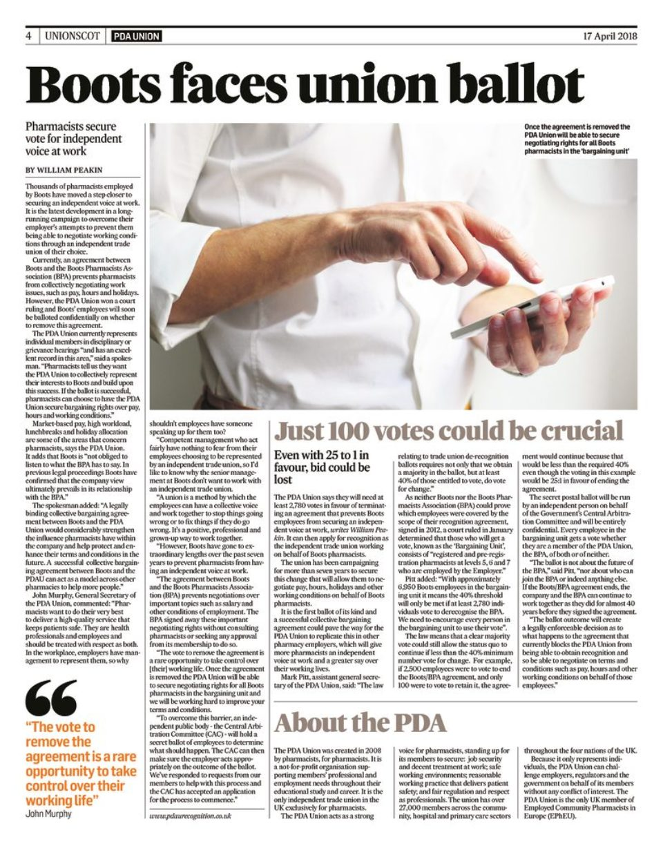 thumbnail of UnionScot supplement in The Times Scotland 17.4.18