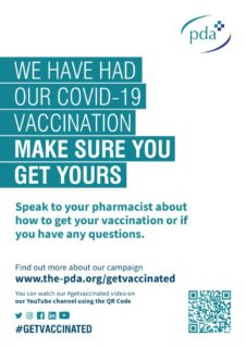 thumbnail of We have had our vaccine – colour poster