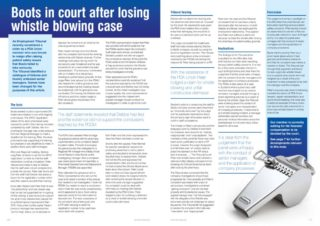 thumbnail of Whistleblowing two page article