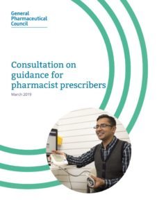 thumbnail of consultation_on_guidance_for_pharmacist_prescribers_march_2019_0
