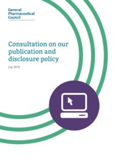 thumbnail of consultation_on_our_publication_and_disclosure_policy_july_2018_0