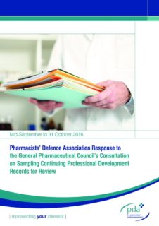 thumbnail of gphc-cpd-sampling-pda-consultation-response