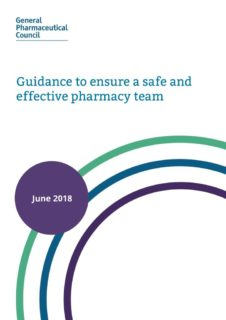 thumbnail of guidance_to_ensure_a_safe_and_effective_pharmacy_team_june_2018