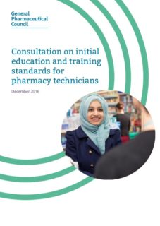 thumbnail of pharmacy_technician_educations_standards_consultation_december_2016