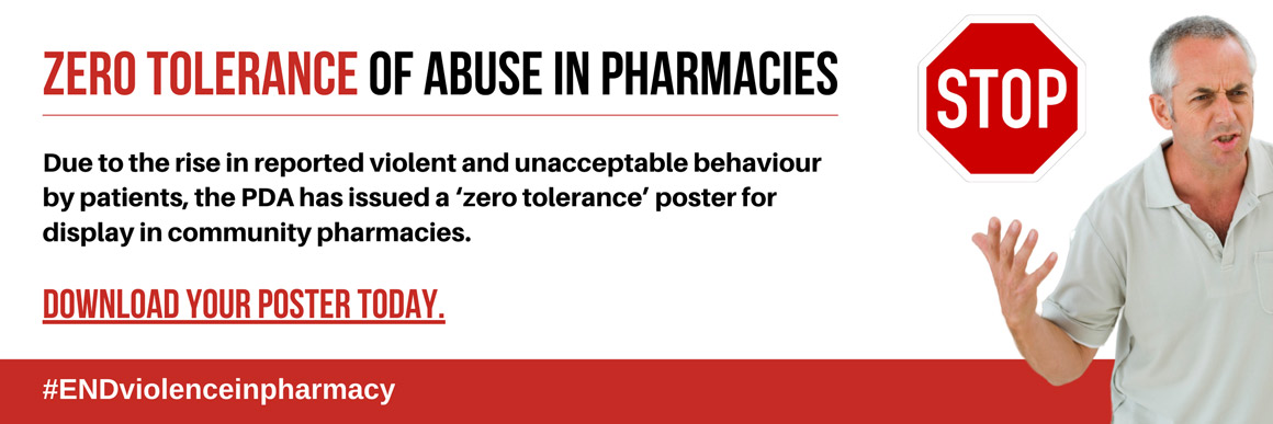 PDA increase action on campaign to end violence in pharmacies